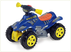 ATV electric Dragon Blue